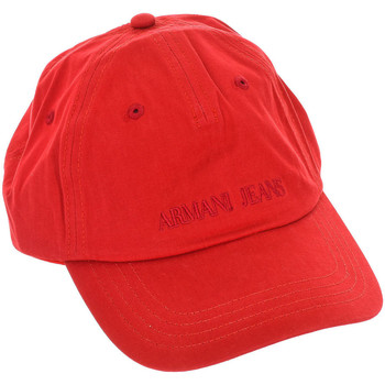 Acessórios Homem Boné Armani jeans Gorra Vermelho