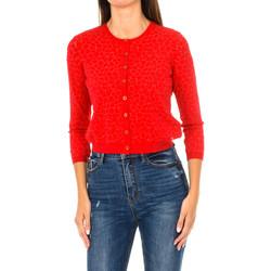 Textil Mulher Casacos de malha Armani jeans Chaqueta de punto Vermelho