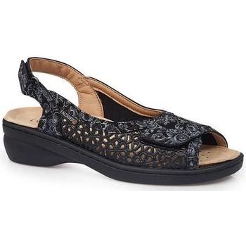 Sapatos Mulher Sandálias Calzamedi SANDÁLIAS  JUANETES ELASTICA PRETO