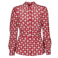 Textil Mulher Tops / Blusas MICHAEL Michael Kors LUX PINDOT MED TOP Bordô