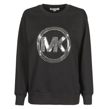 Textil Mulher Sweats MICHAEL Michael Kors MK CRCL CLSC SWTSHRT Preto