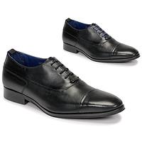 Sapatos Homem Richelieu Azzaro LITCHI Preto