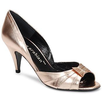 Sapatos Mulher Escarpim Karine Arabian MONTEREY Rosa / Metalizado