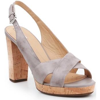 Sapatos Mulher Sandálias Geox D Mauvelle C D724LC-000LC-C1010 grey