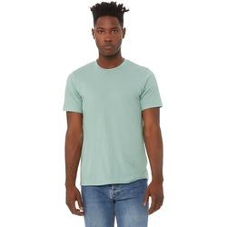 Textil Homem T-Shirt mangas curtas Bella + Canvas CA3413 Dusty Blue Triblend