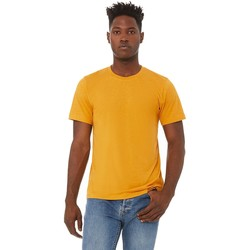 Textil Homem T-Shirt mangas curtas Bella + Canvas CA3413 Mustard Triblend