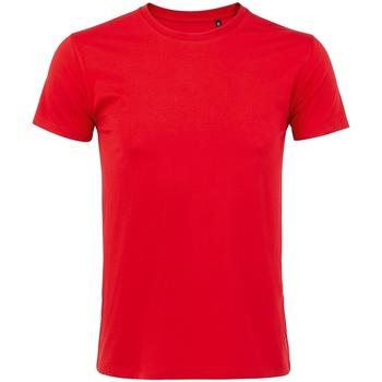 Textil Homem T-Shirt mangas curtas Sols 10580 Vermelho