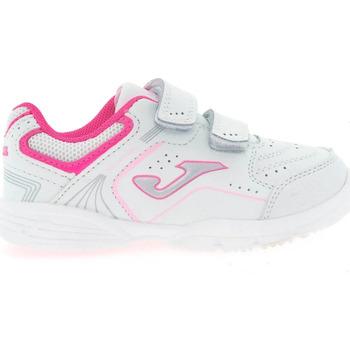 Sapatos Criança Multi-desportos Joma Zapatillas  School Jr 2010 Blanco-Rosa Branco
