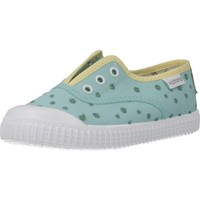 Sapatos Rapaz Sapatilhas de ténis Victoria 1366126 Verde