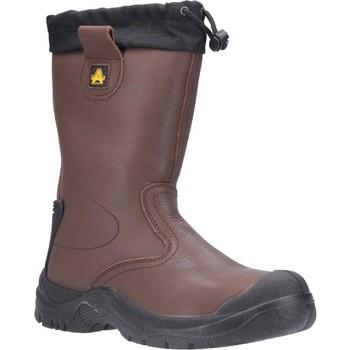 Sapatos Homem Sapato de segurança Amblers Safety  Brown