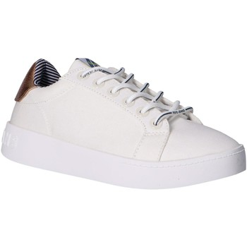 Sapatos Mulher Sapatilhas Pepe jeans PLS30967 BRIXTON FUN Blanco