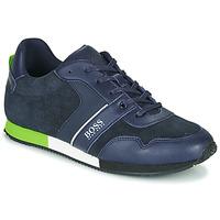 Sapatos Rapaz Sapatilhas BOSS J29225 Azul