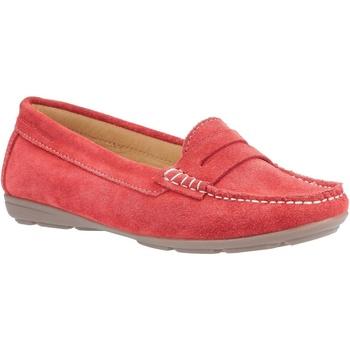 Sapatos Mulher Mocassins Hush puppies  Vermelho
