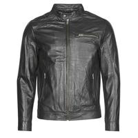 Textil Homem Casacos de couro/imitação couro Selected SLHC01 Preto