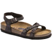 Sapatos Mulher Sandálias Birkenstock Kumba sfb bf Castanho