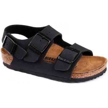 Sapatos Criança Sandálias Birkenstock Milano bf Preto