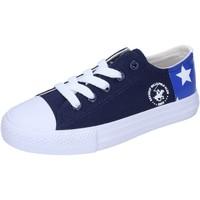 Sapatos Rapaz Sapatilhas Beverly Hills Polo Club Sneakers BM931 Azul