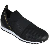 Sapatos Homem Slip on Cruyff elastico black/gold Preto