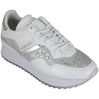 Sapatos Mulher Sapatilhas Cruyff wave embelleshed white Branco