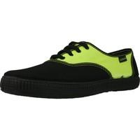 Sapatos Homem Sapatilhas Victoria 106652 Amarelo