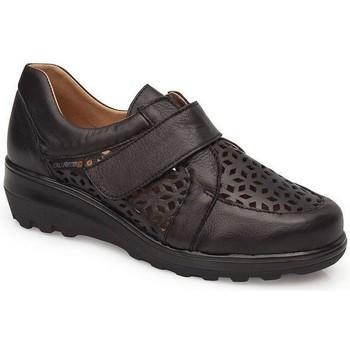 Sapatos Mulher Mocassins Calzamedi CALÇADO TRANSPIRA PRETO