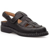 Sapatos Homem Sandálias Calzamedi SANDÁLIAS  KOMODON PRETO