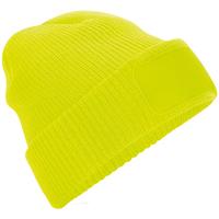 Acessórios Gorro Beechfield BB440 Amarelo Fluorescente
