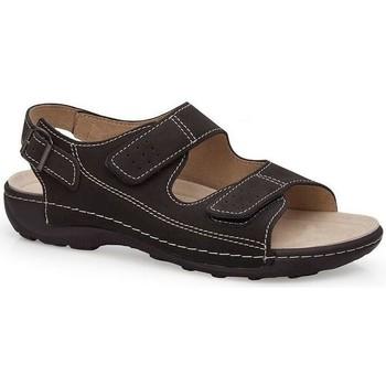 Sapatos Homem Sandálias Calzamedi SANDÁLIAS  BECHAMP PRETO