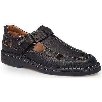 Sapatos Homem Sandálias Calzamedi SANDÁLIAS  GIOTTO PRETO