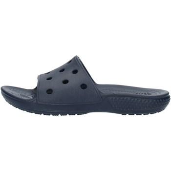 Sapatos Rapaz chinelos Crocs 206396 Azul