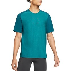 Textil Homem T-Shirt mangas curtas Nike Tech Pack Cor azul-turquesa