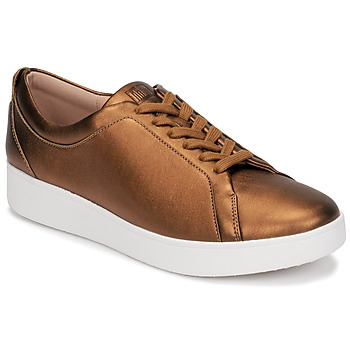 Sapatos Mulher Sapatilhas FitFlop RALLY SNEAKERS Ouro