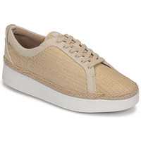 Sapatos Mulher Sapatilhas FitFlop RALLY BASKET WEAVE SNEAKERS Bege
