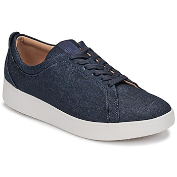 Sapatos Mulher Sapatilhas FitFlop RALLY DENIM Azul