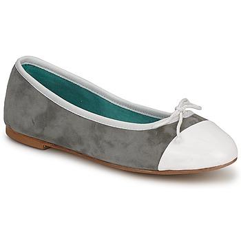Sapatos Mulher Sabrinas Les Lolitas FELL Branco-cinza