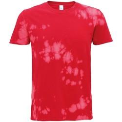 Textil T-Shirt mangas curtas Colortone TD09M Vermelho