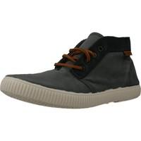 Sapatos Mulher Sapatilhas de cano-alto Victoria 106675 Cinza