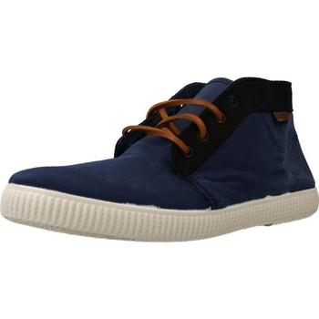 Sapatos Homem Sapatilhas de cano-alto Victoria 106675 Azul
