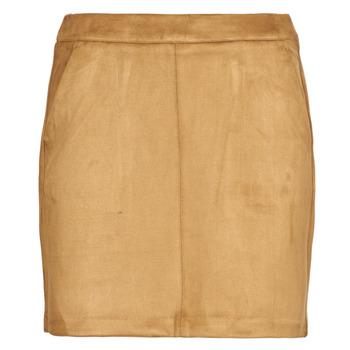 Textil Mulher Saias Vero Moda VMDONNADINA Conhaque