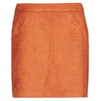 Textil Mulher Saias Vero Moda VMDONNADINA Laranja