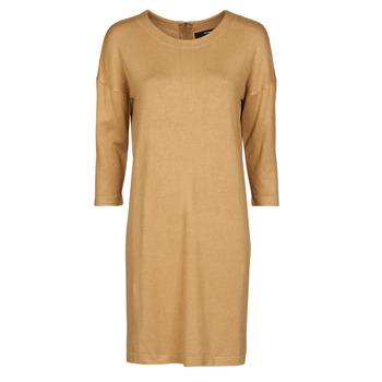 Textil Mulher Vestidos curtos Vero Moda VMGLORY Camel