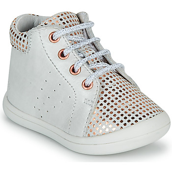 Sapatos Rapariga Sapatilhas de cano-alto GBB NAHIA Branco