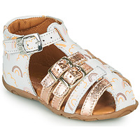 Sapatos Rapariga Sandálias GBB RIVIERA Branco