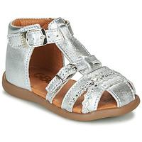 Sapatos Rapariga Sandálias GBB ALIDA Prata