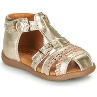 Sapatos Rapariga Sandálias GBB ALIDA Ouro