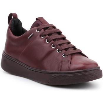 Sapatos Mulher Sapatilhas Geox D Mayrah B ABX C D643MC-00085-C7357 burgundy