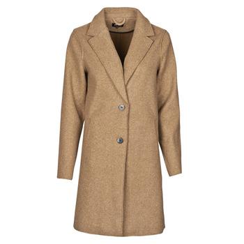 Textil Mulher Casacos Only ONLCARRIE BONDED Camel