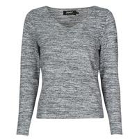 Textil Mulher camisolas Only ONLCLARI Cinza