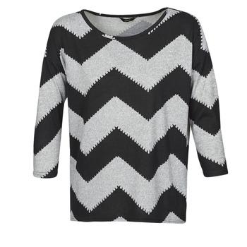 Textil Mulher Tops / Blusas Only ONLELCOS Cinza / Preto