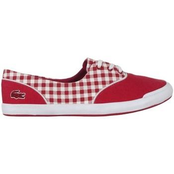 Sapatos Mulher Sapatilhas Lacoste Lancelle Lace 3 Eye 216 1 Spw Branco, Vermelho